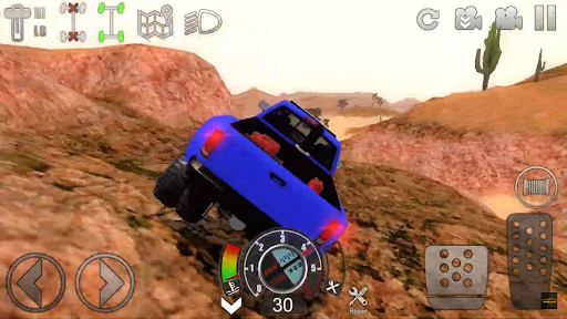 Offroad Outlaw Blue Truck
