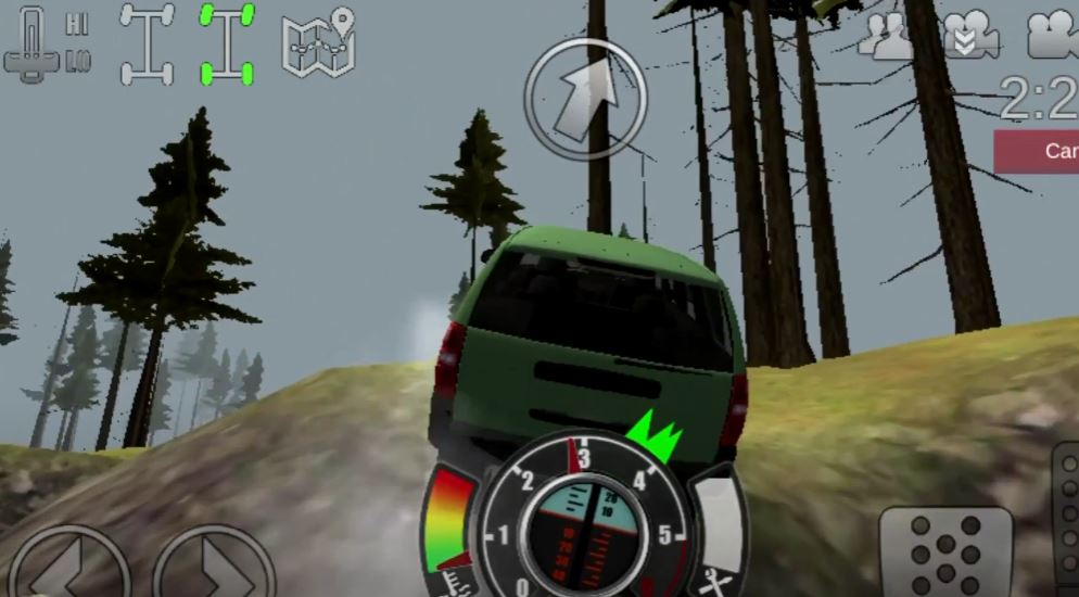 Offroad Outlaws Game Screenshot