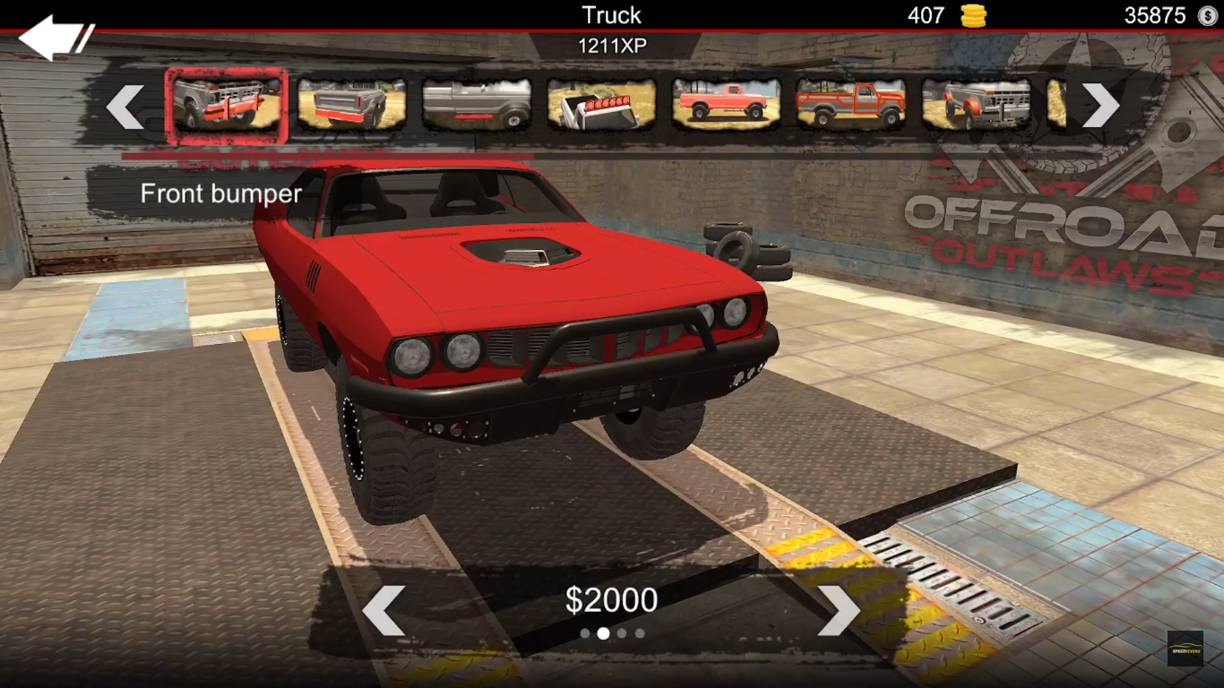 Offroad Outlaw Red